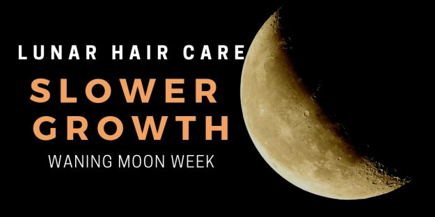 Riding Moon Cycles Lunar Hair Care Waning Moon Week