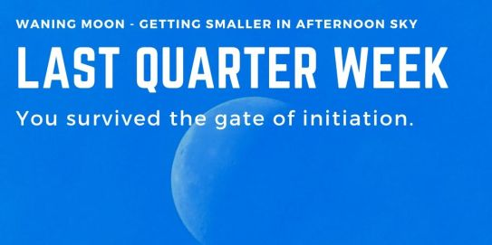 Moon Phase Last Quarter Week